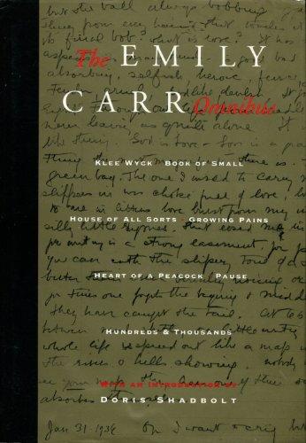 The Emily Carr Omnibus - Carr, Emily; Shadbolt, Doris