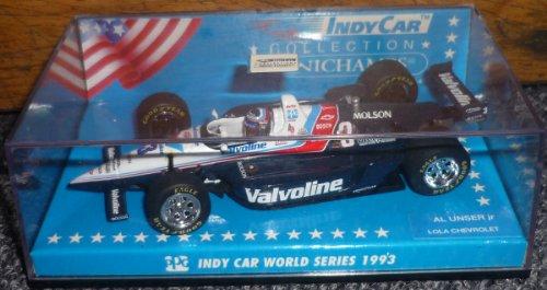 Minichamps Indy Car 1993 Series Al Unser Jr. Lola Chevrolet Speedway 1/43 Metal