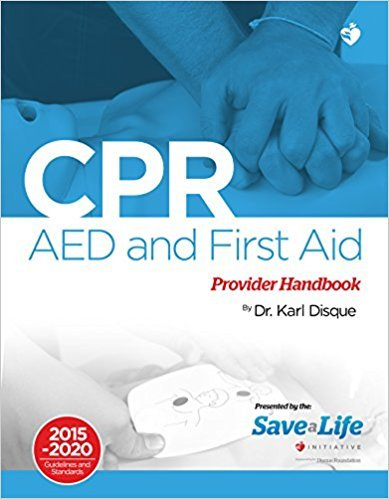 CPR AED First Aid Provider Handbook Health Care