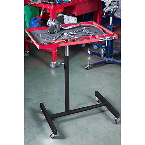OEMTOOLS 24935 OEMTOOLS 24935 Red and Black 29'' Portable Tear Down Tray by OEMTOOLS (Image #6)
