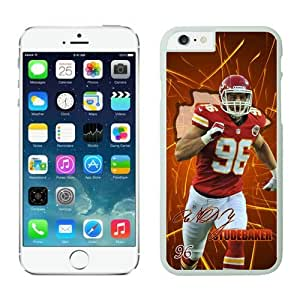 NFL Kansas City Chiefs Andy Studebaker iPhone 6 Cases White 4.7 Inches NFLIphone6Cases12788