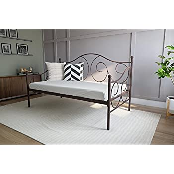Amazon Com Dhp Victoria Daybed Twin Size Metal Frame