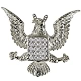 Memorial Gallery 3051s Jeweled Eagle Sterling Silver Cremation Pet Jewelry