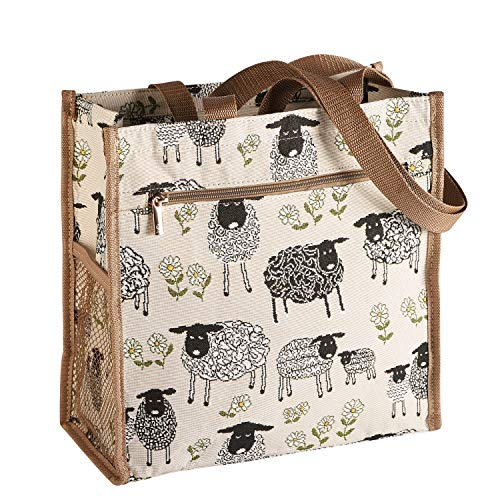Spring Lamb Shopper Bag | Reusable Environmental Branded Unusual Tote by Signare
