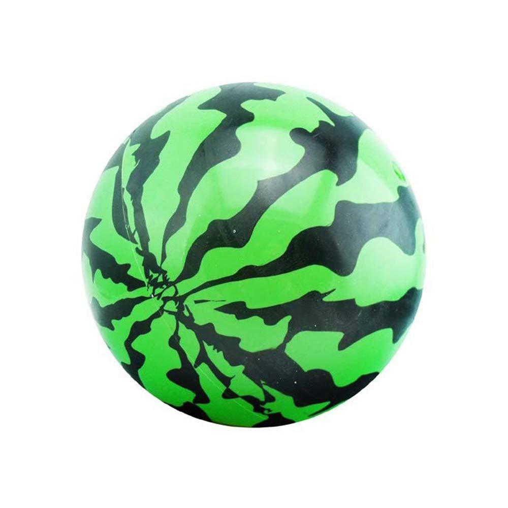 Vektenxi Ballon Wassermelone Aufblasbarer Ball Wasserball PVC Wassermelone Ball Schwimmbad Wasser Spiel Fit Für Kinder Strand Sommer Party