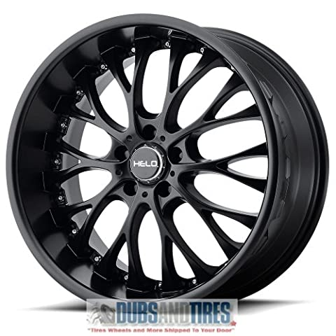 Helo HE890 Satin Black Wheel (22x8.5