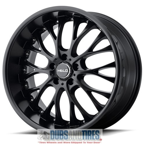 Helo HE890 Satin Black Wheel (20x8.5''/5x115mm, +15mm offset)