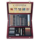 Cretacolor Selection Wood Drawing Set 53Pc
