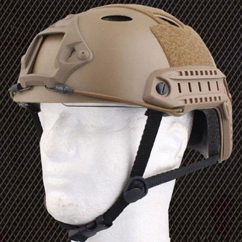 ATAIRSOFT Tactique SWAT Style Militaire de l'armée Type de PJ de Casque Combat Rapide avec Lunettes pour CQB Tir Airsoft… 3
