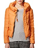 Generic Women's Daily Short Style Coat XL Orange