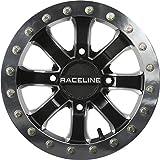 used 14 inch atv rims - Raceline A71 Mama Beadlock ATV/UTV 14x8 4x110 4+4 Black/Machined Wheel Rim