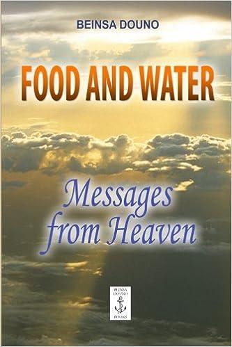 Descarga gratuita de libros de texto electrónicos. Food and Water - Messages from Heaven (Spanish Edition) FB2