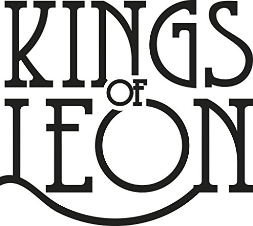 Kings of Leon Decal, H 6 By L 6.5 Inches, White, Black and Other Colors Available, Please Message Us Your Color Choice