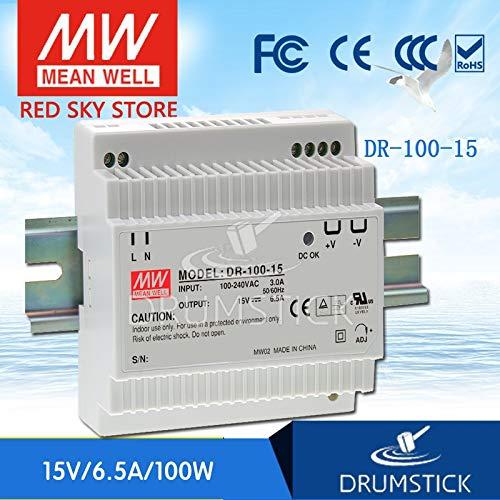 Utini DR-100-15 15V 6.5A DR-100 15V 97.5W Single Output Industrial DIN Rail Power Supply