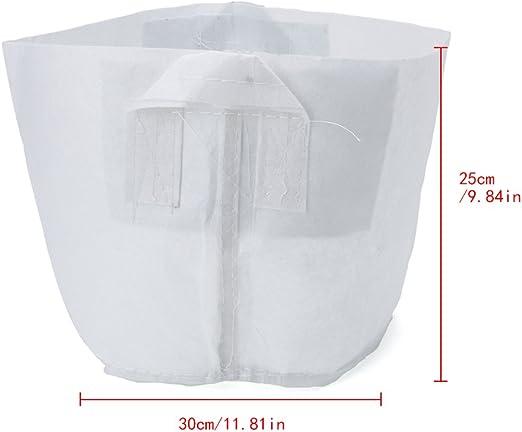 zrshygs Beauty Bag Non Woven Root Container Hierbas en Maceta Tela ...