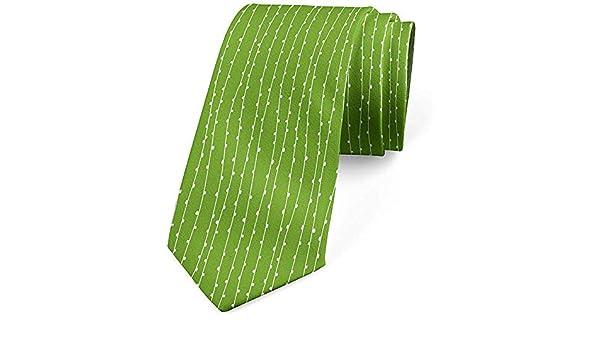 Corbata para hombres, brotes de Nature Lines Brotes, verde lima y ...