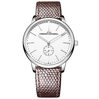 Zeigt Design - Armband Leder - Saphirglas - Hohe QualitÄt