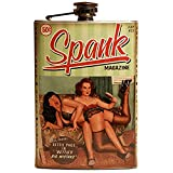 Retro-a-go-go! Bettie PageTM Spank Flask