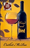 Wined and Died, Cricket McRae, 1410440753