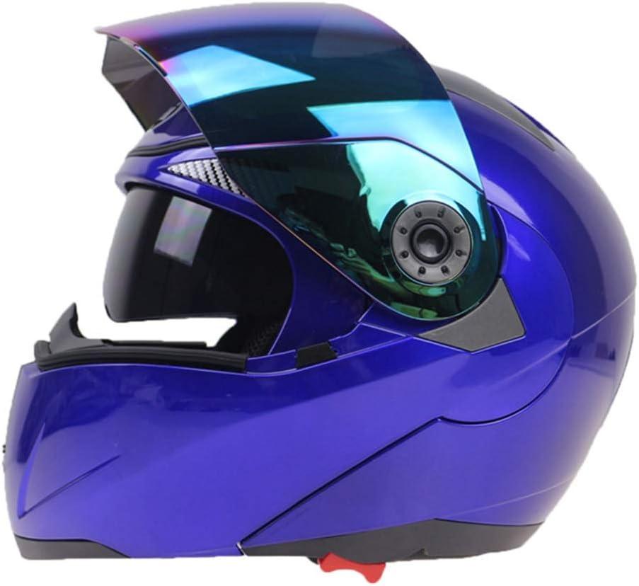 Doppelobjektiv Motorradhelm Multi Funktion Anti Fog Flip Up Motorradhelme Moto Caps f/ür Motocross Racing