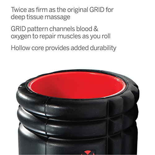 TriggerPoint GRID X Foam Roller with Free Online Instructional Videos, Extra Firm (13-Inch)