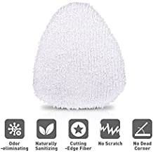 Bonnet Cleaning Pad - Microfiber Cleaning Pads, Set of 1 Mop Cleaning Pads Washable Microfiber Mop Pads with 3 Layer, Replacement for Light 'n' Easy S3601, Mop Pads for Mirror, Window, Clothes, Sofa