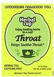 Herbal Cup Herbal Tea, Throat, 16 Tea Bags