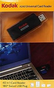 Kodak Universal Card Reader, Black (A240)