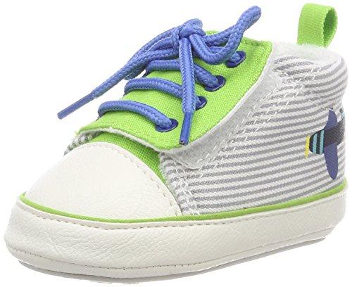 Sterntaler Baby Jungen Schuh Sneaker Grün (Sommergrün)