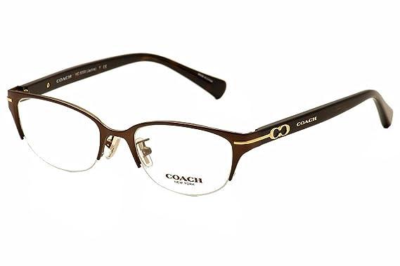 5a363dd58cbc5 Coach Jackie Eyeglasses HC5058 9199 Satin Dark Brown Dark Tortoise 49 17 135