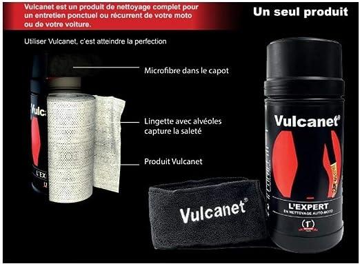 Vulcanet 80 Reinigungstücher 2 Mikrofasern Küche Haushalt