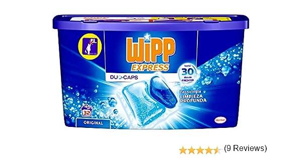 Wipp Express Detergente en cápsulas - 32 Lavados: Amazon.es: Salud ...