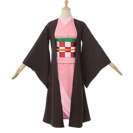 YKJ Nueva Chaqueta de Anime Negro y Traje de Kimono de Color ...