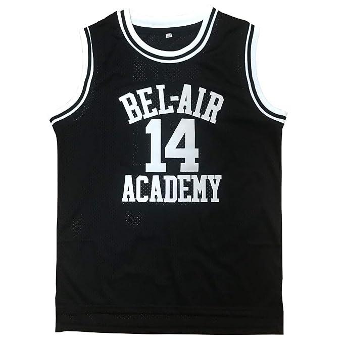 Amazon.com: Youth Will Smith #14 Camisetas El Príncipe ...