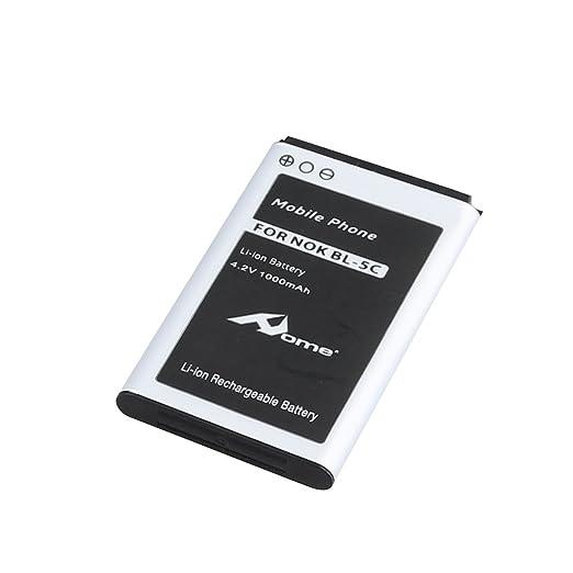 2 opinioni per HOME-Batteria di ricambio per Nokia BL5C Modello BL5C (1000 mAh 4.2V)