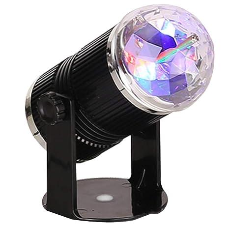 DJ Disco Escenario Luz Mini Estrella Cristal Bola mágica Proyector ...