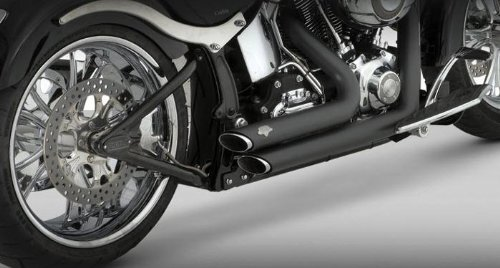 - Vance and Hines Shortshots Staggered Black Full System Exhaust for Honda 2009-1 - One Size