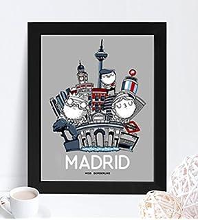 Lamina decorativa - Missborderlike -Lámina Madrid
