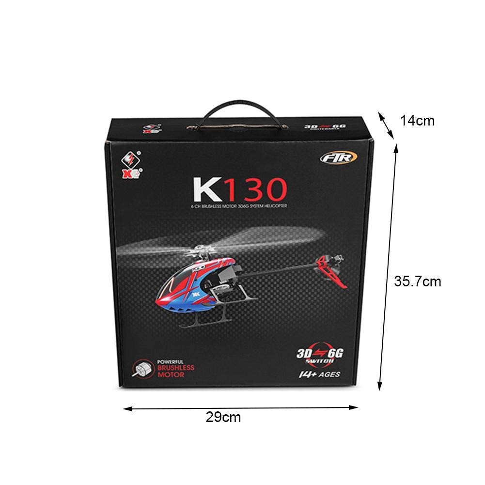 Blueyouth Aircraft Model - for Weili K130 RC Helicopter Six - Way Single - Blade Without Aileron Aircraft Model for Weili K130 RC by Blueyouth (Image #2)