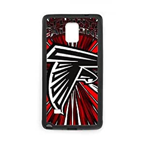 Atlanta Falcons Team Logo Samsung Galaxy Note 4 Cell Phone Case Black Gift pjz003_3146228