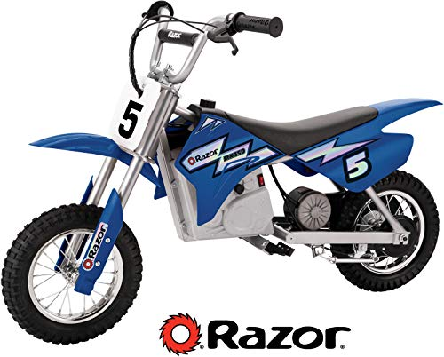 Razor MX350 Dirt Rocket Electric Motocross Bike - Blue (Best 250 Motocross Bike)