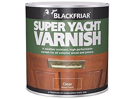 Blackfriar BKFSYV500 Super Yacht Varnish, 500 ml Toolbank