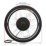 Esright 26 in Bike Rear Wheel Electric Motor Bicycle Conversion Kit 48v 1000w