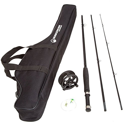 Deluxe Charter Series Fly Fishing Combo with Padded Carrying Bag! by TMG