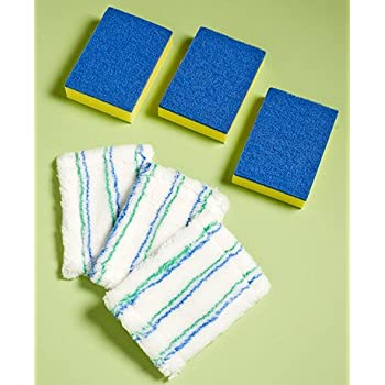 Amazon Com Shower Tile And Tub Scrubber Set Or Refills