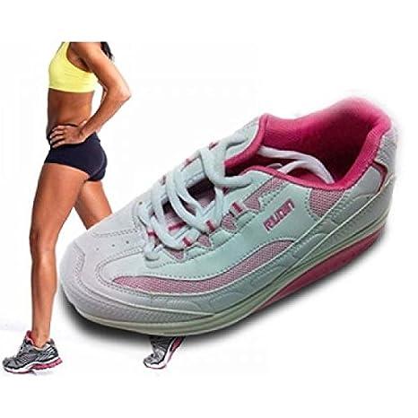 Compra CEXPRESS - Zapatillas para Adelgazar Mujer - Beige, 36 en Amazon.es