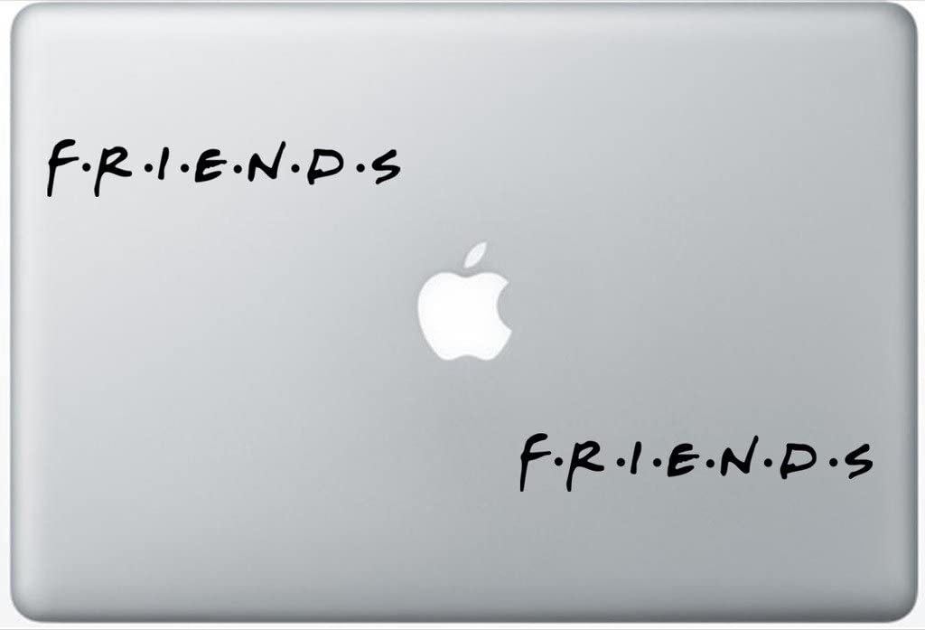 Friends Famous Tv Series Friends Logo FlashDecals3453 Set of Two (2X), Decal, Sticker, Laptop, Ipad, Car, Truck