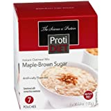 ProtiDiet High Protein Oatmeal - Maple Brown Sugar (7 Servings/Box)