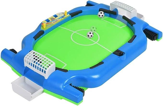 Mesa de billar plegable Mini Mesa Dedo Juego de pelota de fútbol Juego de escritorio de