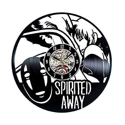 The Film Spirited Away dibujos animados Anime reloj de pared de ...